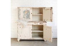 Vintage Pink 2-Piece Cabinet