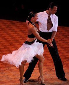 Slavik Kryklyvyy top of the top latin dancer
