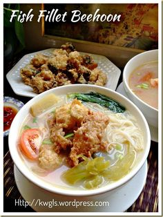 Fish Head/Fillet Rice Vermicelli Soup (鱼头/片米粉汤)