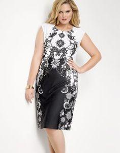 432e0104526 JMS Cap-Sleeve Pullover Printed Dress Plus Size Bra
