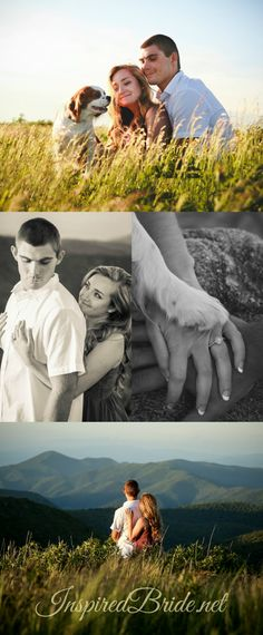Best Engagement Photoshoot on the Top of the Mountains.