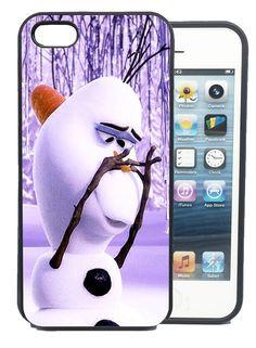 Coque iPhone et Samsung Olaf Elsa La Reine des Neiges Frozen Disney Bumper Apple                                                                                                                                                                                 Plus