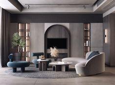 Luxury Homes Interior, Luxury Apartments, Home Interior Design, Interior Architecture, Home Living, My Living Room, Living Room Interior, Formal Living Rooms, Interior Design Inspiration
