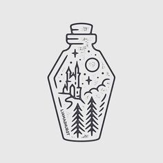 By Liamashurst Quick castle Dracula potion bottle I managed to squeeze in today!