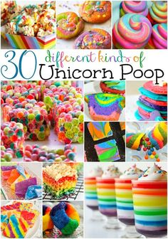30 Ways to Make Unicorn Poop.
