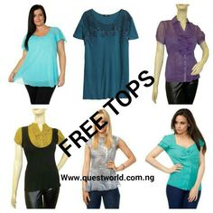 10-20% off! 2nd day of awoof\=d/ *party* A free top per purchase! Nationwide Free Delivery from 24hrs. www.questworld.com.ng THANK YOU ALL