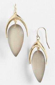 Alexis Bittar 'Lucite Neo Bohemian' Crescent Drop Earrings