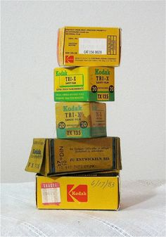 5 Rolls of Vintage Film 35mm and 116 roll film by CanemahStudios, $9.95