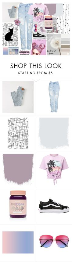 """Boyfriend Jeans"" by teenagedirthbag ❤ liked on Polyvore featuring Abercrombie & Fitch, Topshop, Miss Selfridge, Lime Crime and Vans"