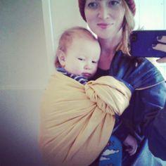 ring sling adorableness #sakurabloom #babywearing via michellemakesthings on instagram