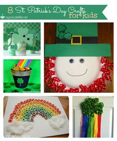 St. Patrick's Day #Crafts for Kids