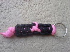 Awareness Ribbon Paracord Keychain via Etsy