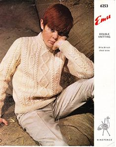 Vintage knitting pattern for boys Aran Jumper, double knit. Aran Jumper, Cable Sweater, Sweater Cardigan, Knitting Patterns Boys, Jumper Knitting Pattern, Clothing Themes, Boys Sweaters, Vintage Knitting, Double Knitting