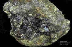 Ferro-Chlorit-----------------------Harzer Gabbro-Steinbruch der Norddeutsche Naturstein GmbH, Bad Harzburg, Niedersachsen, Germany, Copyright © H. Stoya