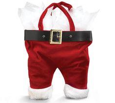 Santa Pants Wine Bag | Gifts | Walking Pants Curiosities