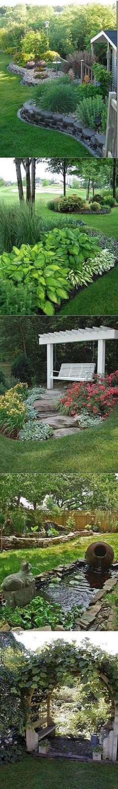 Ideas backyard shade plants garden ideas for 2019 Backyard Shade, Shade Garden, Backyard Patio, Backyard Plants, Wedding Backyard, Landscape Design, Garden Design, Urban Landscape, Front Yard Landscaping