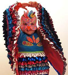 selbst genähtes Eulenkostüm - Freebie und Anleitung #kostümewettbewerb #karneval