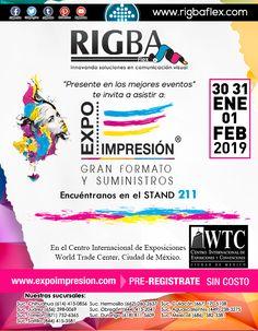 No te pierdas la mejor exposición de artes gráficas a nivel internacional. Graphic Art, Innovative Products, Get Well Soon, Events