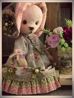 Teddy Bears handmade.  Fair Masters - handmade.  Buy When it comes to Christmas ... Lapushka.  Handmade.  bear by by Elena Korotkova