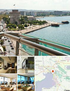 Este luxuoso hotel situa-se no centro de Thessaloniki, junto à estrada costeira, apenas a cerca de 2 minutos da famosa torre branca e a aproximadamente 3 minutos da Igreja de St. Dimitris. Nas imediações do hotel encontrará estabelecimentos comerciais, cafés e restaurantes.