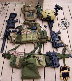 rhodesian recon vest and gear