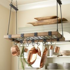 Arturo Pot Rack Would Probably Never Actually Execute This But Still Love The