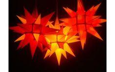 Como instalar uma luminária em forma de estrela