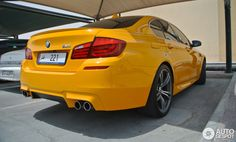 Atacama yellow F10 M5