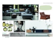 Moodboard interieurontwerp   Driel Interior Design, Nest Design, Home Interior Design, Interior Designing, Home Decor, Interiors, Design Interiors