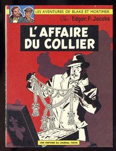 """BLAKE ET MORTIMER """"L'affaire du collier"""", EO belge édition Dargaud 1967"""
