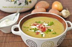 Cheeseburger Chowder, Food And Drink, Bacon, Cooking, Soup Bowls, Ethnic Recipes, Funny Pets, Drinks, Gastronomia