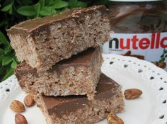 Mennonite Girls Can Cook: Nutella Rice Krispee Treats