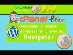 Como desintalar e instalar Wordpress con Cpanel en Hostgator