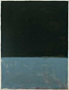 Mark Rothko, Untitled (1969). He was interested in the relationship between a painting and its viewer, seeking to create an intimacy by painting in a format so large the viewer could feel themselves part of it