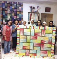 Stepping Stones, Quiltworx.com, From a workshop in Jakarta Indonesia