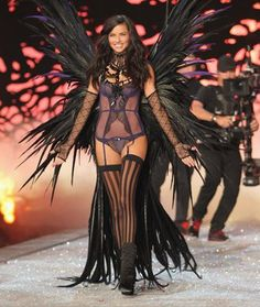 What does it take to be an angel? We've got Victoria's Secret model Adriana…
