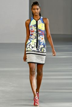 Peter Pilotto Spring 2012 Ready-to-Wear Fashion Show - Melodie Monrose