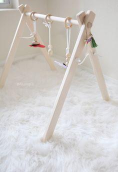 Bébé en bois classique jeu Gym