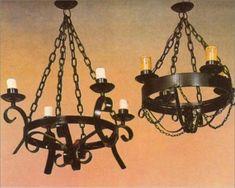 lamparas y candiles de hierro forjado - Búsqueda de Google
