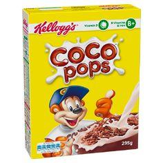 Kids Cereal, Cereal Milk, Breakfast Snacks, Breakfast Cereal, Honey Pops, Cocoa Krispies, Chocolate Cereal, Tesco Groceries, Puffed Rice