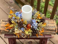 Fathers Day In Heaven, Happy Birthday In Heaven, Grave Flowers, Cemetery Flowers, Flower Centerpieces, Fall Table Centerpieces, Merry Christmas In Heaven, Blue Hydrangea, Led Candles
