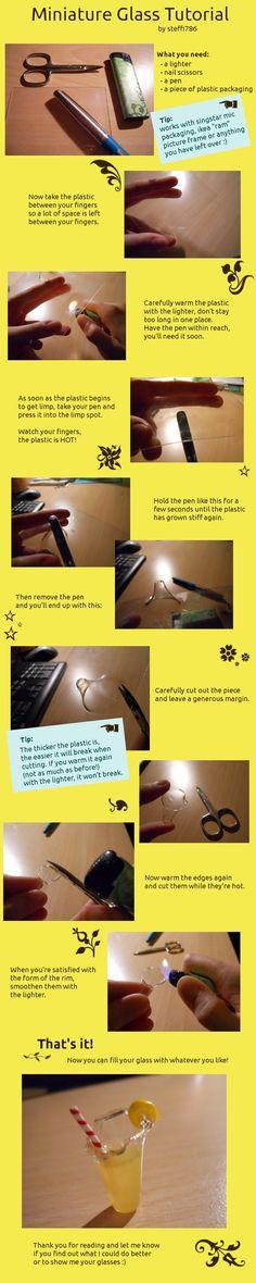 mini glass tutorial