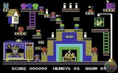 On instagram by salagiochi1980 #retrogames #microhobbit (o) http://ift.tt/1WsvBrQ'S HOUSE - English Software 1984 (Commodore 64) #henryshouse #englishsoftware #commodore64 #c64 #cbm64 #commodore #8bit #homecomputer  #retrogaming #videogames #videogiochi #games #game #gaming #salagiochi1980 #salagiochi #nostalgia #memories #chrismurray