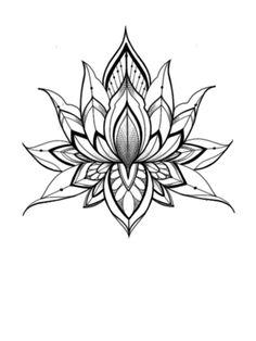 Geometric Flower, Hawaiian Flowers, Cocktail Shaker, Mandala Tattoo, Garter, Tattoos For Women, Pasta, Yarns, Flower