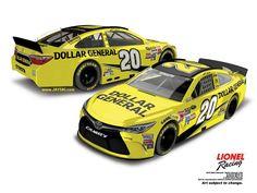 Jayski's® NASCAR Silly Season Site - 2016 NASCAR Sprint Cup Series #20 Paint Schemes