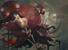 Digital Illustrations by Roro Zhu