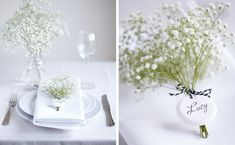 Steel Petal Press | Wedding Trend | Baby�s Breath | http://steelpetalpress.com