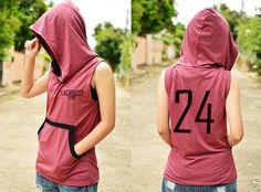 EVENT Lacrosse club t-shirt hoodie sleeveless with от kusuriurisan