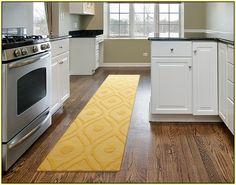 Kitchen Runner Rugs  Yellow Kitchen Runner Rug In Modern Kitchen. & 16 Best Kitchen Runner Rugs images | Kitchen runner rugs Kitchen ...