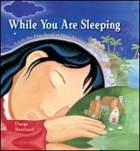 Book, While You Are Sleeping by Durga Bernhard (touches upon different timezones, geography, customs)